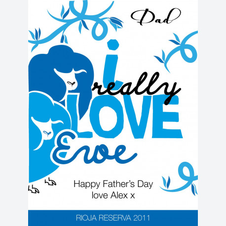 Personalised Fathers Day Gift - Love Ewe Dad