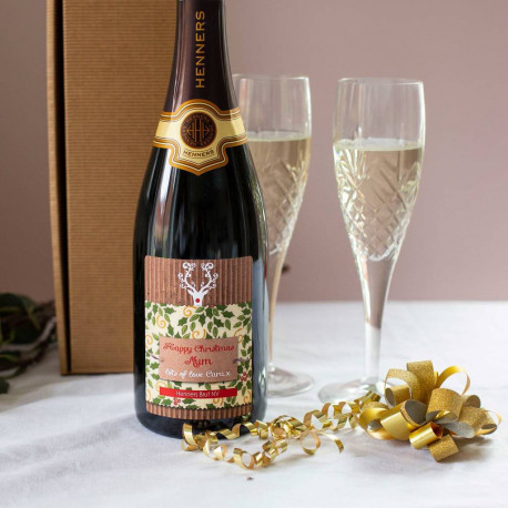 Personalised English Sparkling Wine