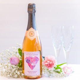 Personalised Rosé Champagne