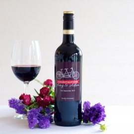 Personalised red wine