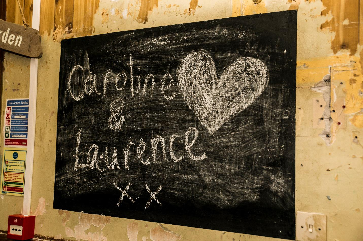 Caroline and Laurence's Wedding