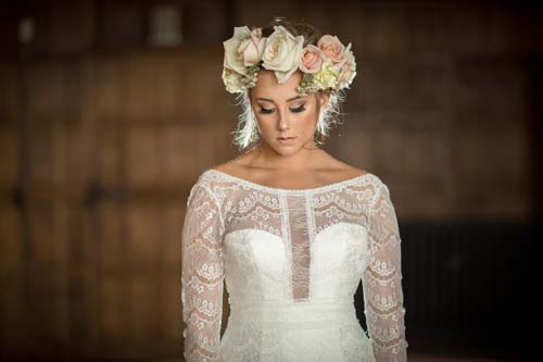 Floral crown by Wild Ideas Flowers