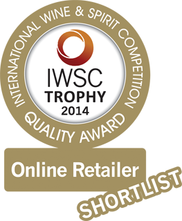 International Wine and Spirits Competition Best Online Retailer Finalist 2014