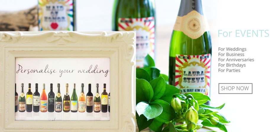 Personalised gifts for all types of events