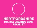 Bottle Bazaar announced as finalists at the Herts Digital Awards 2017
